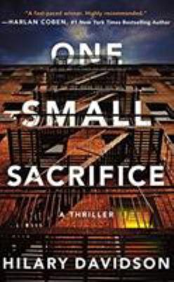 One small sacrifice a thriller