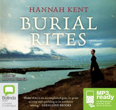 Audiobook cover for Burial rites
