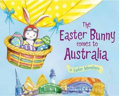 Book cover for The Easter Bunny comes to Australia