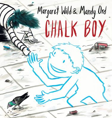 Book cover for Chalk Boy