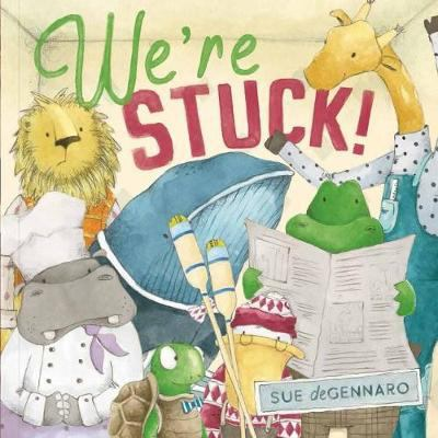 Link to Catalogue record for We're Stuck