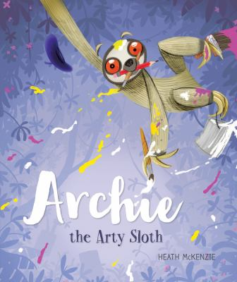 Book cover for Archie the Arty Sloth
