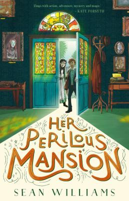Book cover for Her perilous mansion