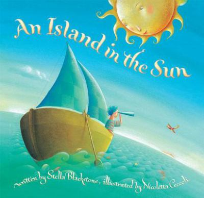 Book cover for An Island in the sun