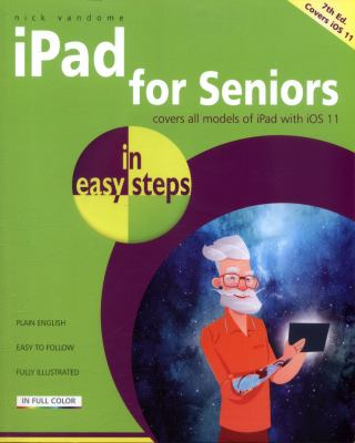 """Book Cover - iPad for Seniors"""" title=""""View this item in the library catalogue"""