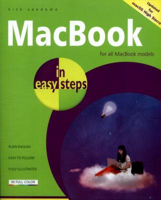 MacBook in easy steps :  For MacBook, MacBook Air and MacBook Pro