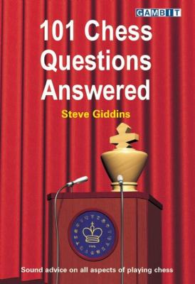 Cover Image for 101 chess questions answered