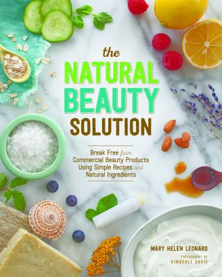 Book cover for THE NATURAL BEAUTY SOLUTION