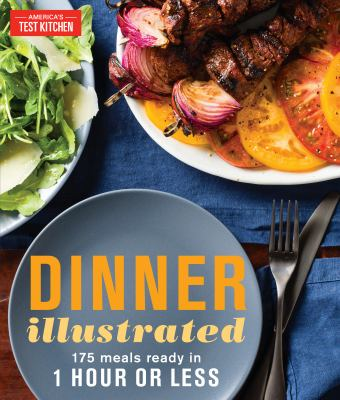 Dinner illustrated :  175 meals ready in 1 hour or less