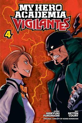 My hero academia vigilantes. 4
