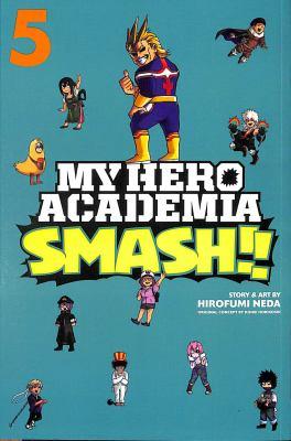 Book cover for  My hero academia smash!!. 5
