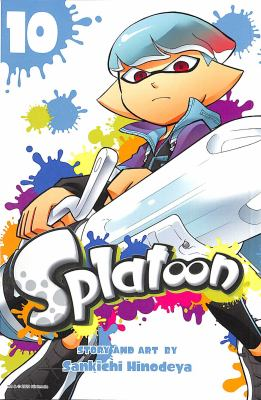 Book cover for  Splatoon. Vol. 10