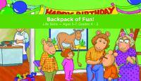 Backpack of Fun!.